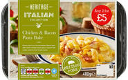 CHICKEN & BACON PASTA BAKE ANY 2 FOR £5