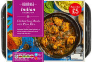 CHICKEN TIKKA SAAG ANY 2 FOR £5