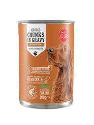 Canned Chicken Chunks in Gravy Dog food