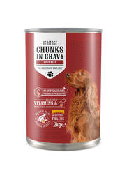 Canned Beef Dog Food