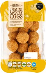 18 MINI SAVOURY EGGS