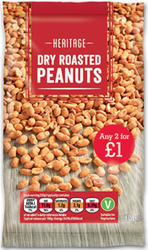 Dry Roasted Peanuts