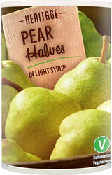 Pear Halves in Light Syrup