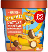 CARAMEL SHORTCAKE ICE CREAM