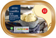 VANILLA FLAVOURED ICE CREAM